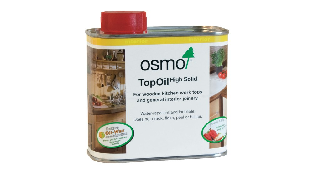 Osmo Top Oil best choice for oiling and reoiling your wood worktops!