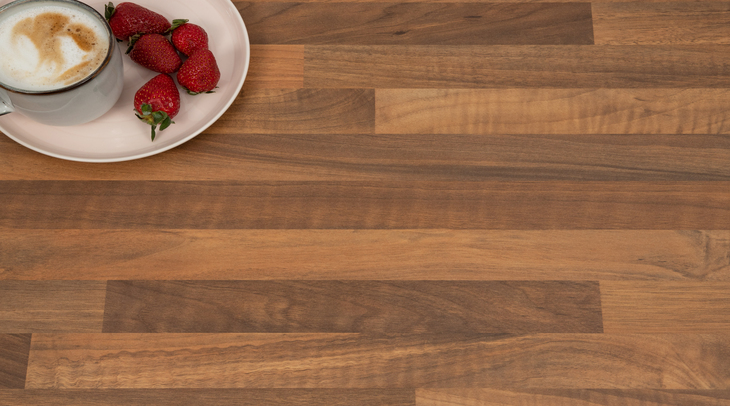 Black Walnut Laminate Worktop