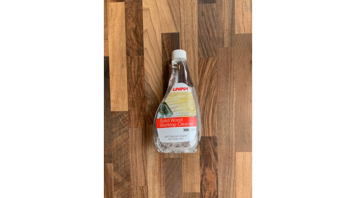 Solid Wood Worktop Cleaner