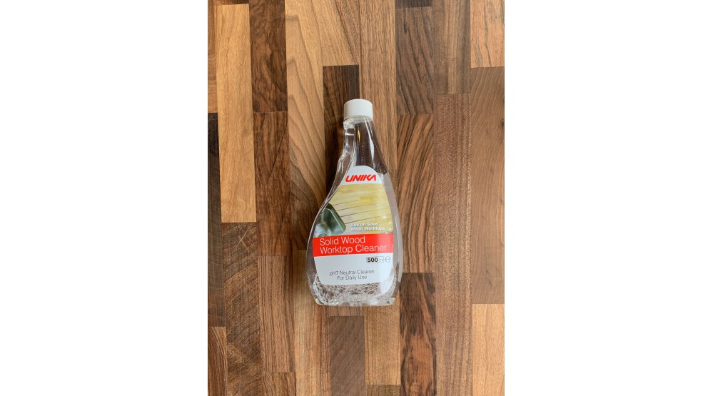 Solid Wood Worktop Cleaner